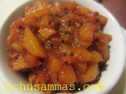 Achu's Amma's Kitchen: Pickle(Achar)