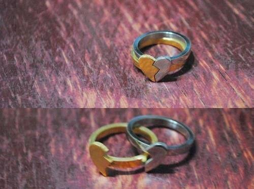 amo estos anillos para el compromiso