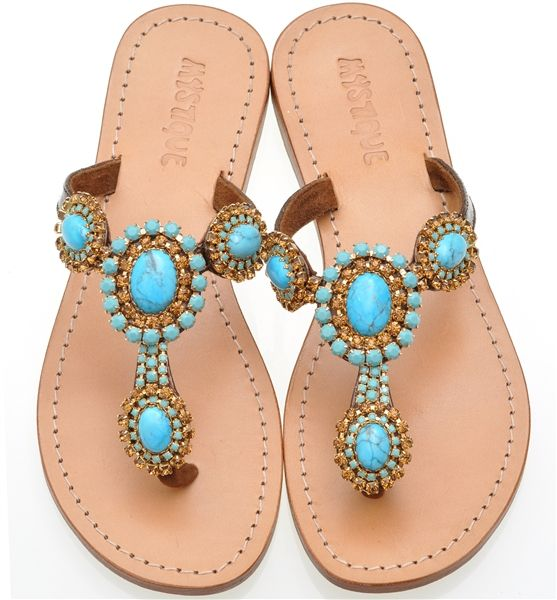 cd1b8cfd2 Sparkle Spotlight  Jeweled Sandals from Mystique Sandals
