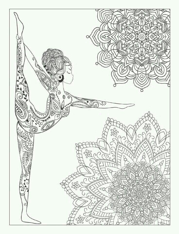 ♡ yoga ♡ | Dibujos para nahia | Pinterest | Mandalas, Dibujo y ...