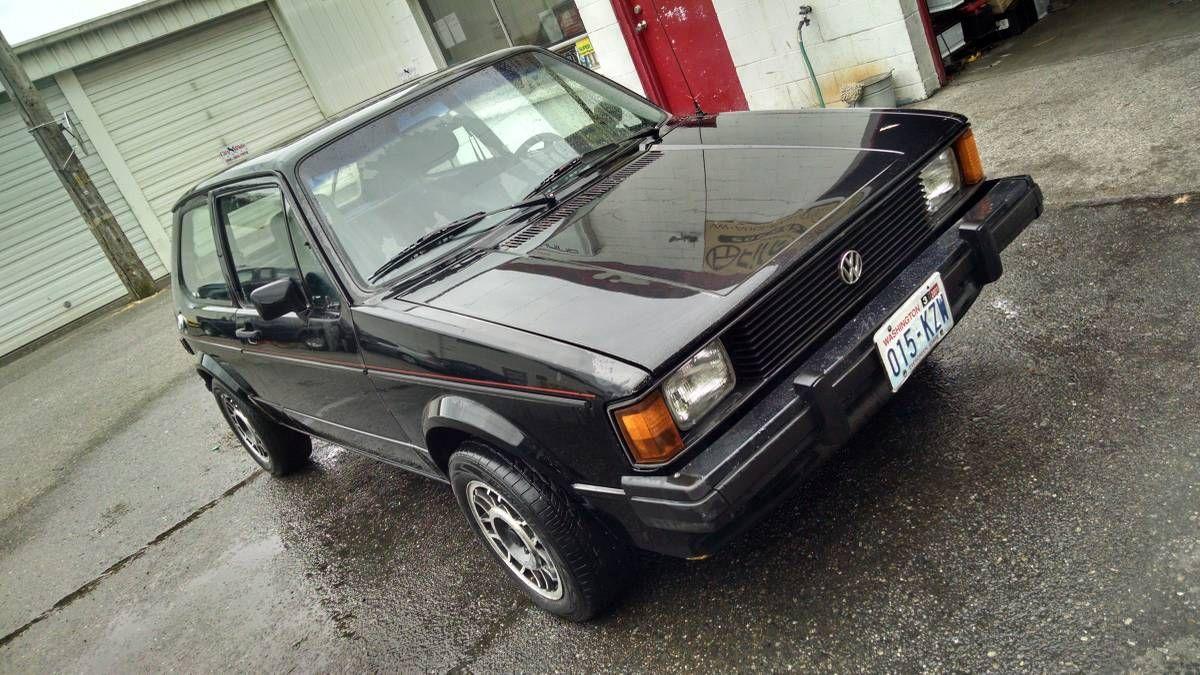 1983 Vw Rabbit Gti Volkswagen Pinterest And