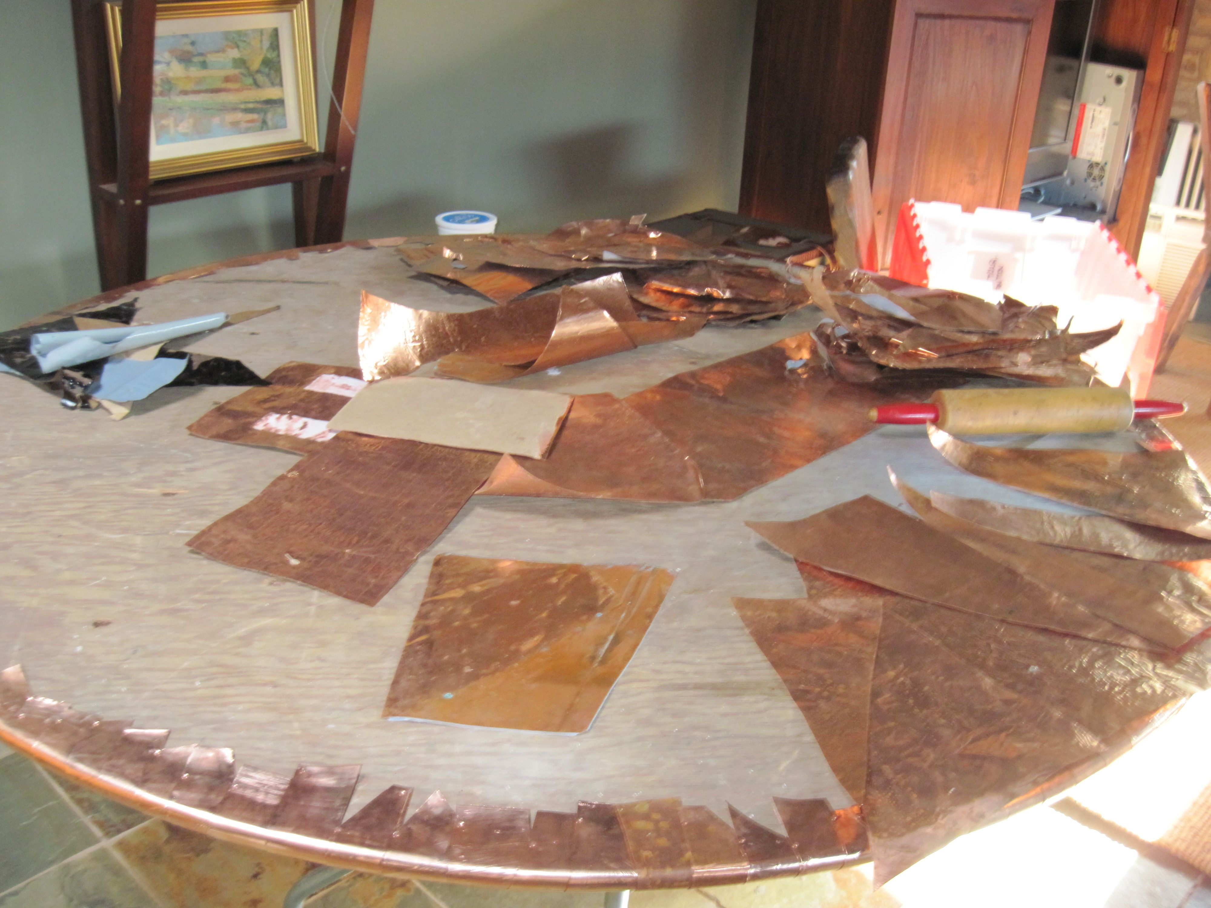Next Copper Table Top