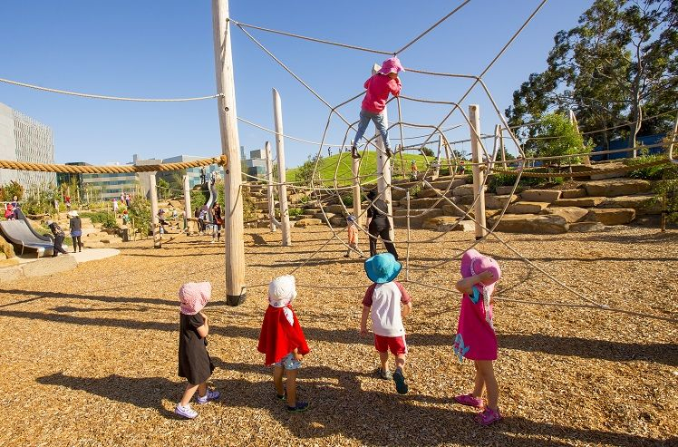 City Of Melbournes Nature Play At Royal Park Crowned Australias Best Playground