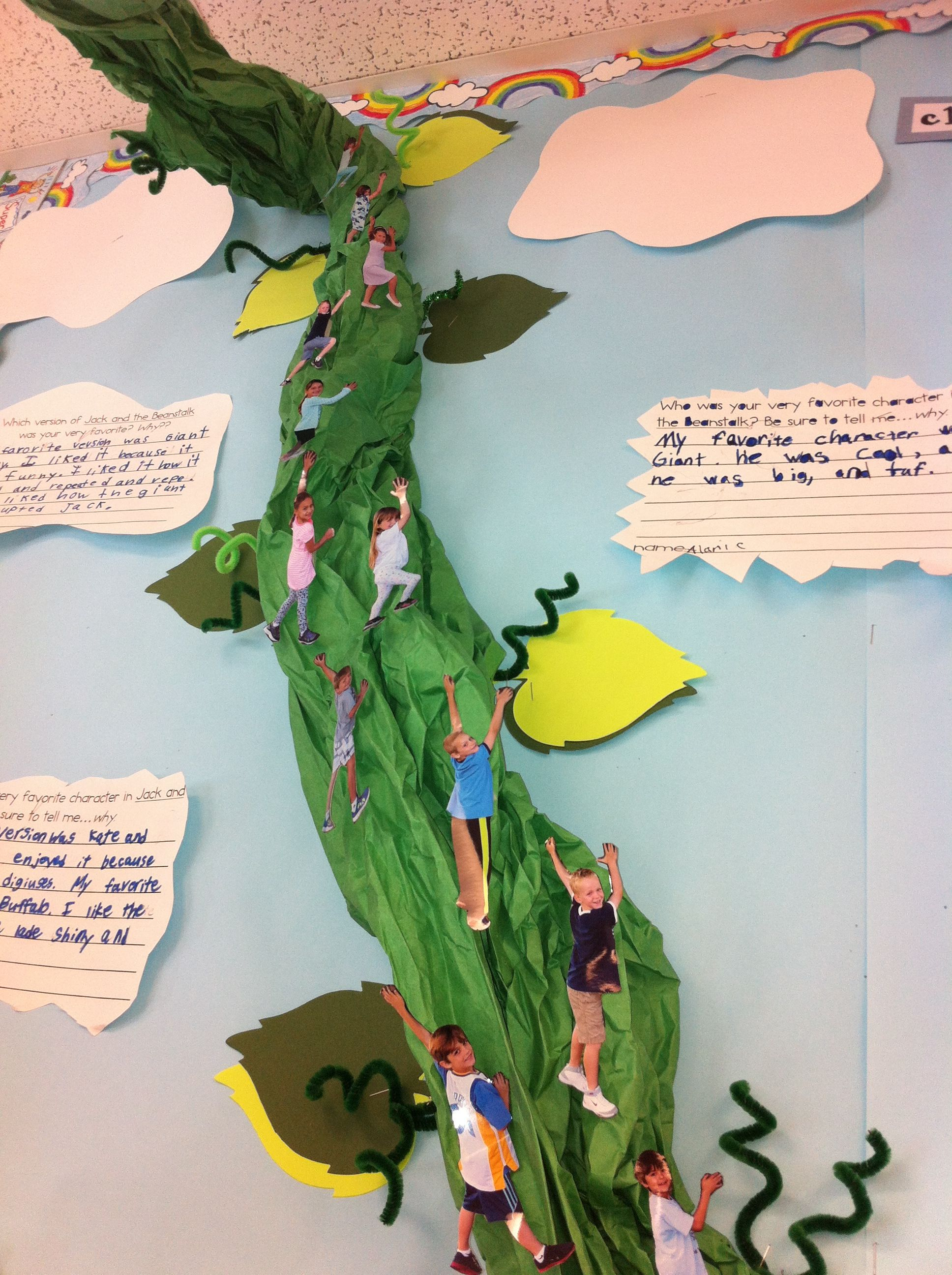 Pics Of Kids Climbing Up Beanstalk Ybe A Jack And The Beanstalk Unit