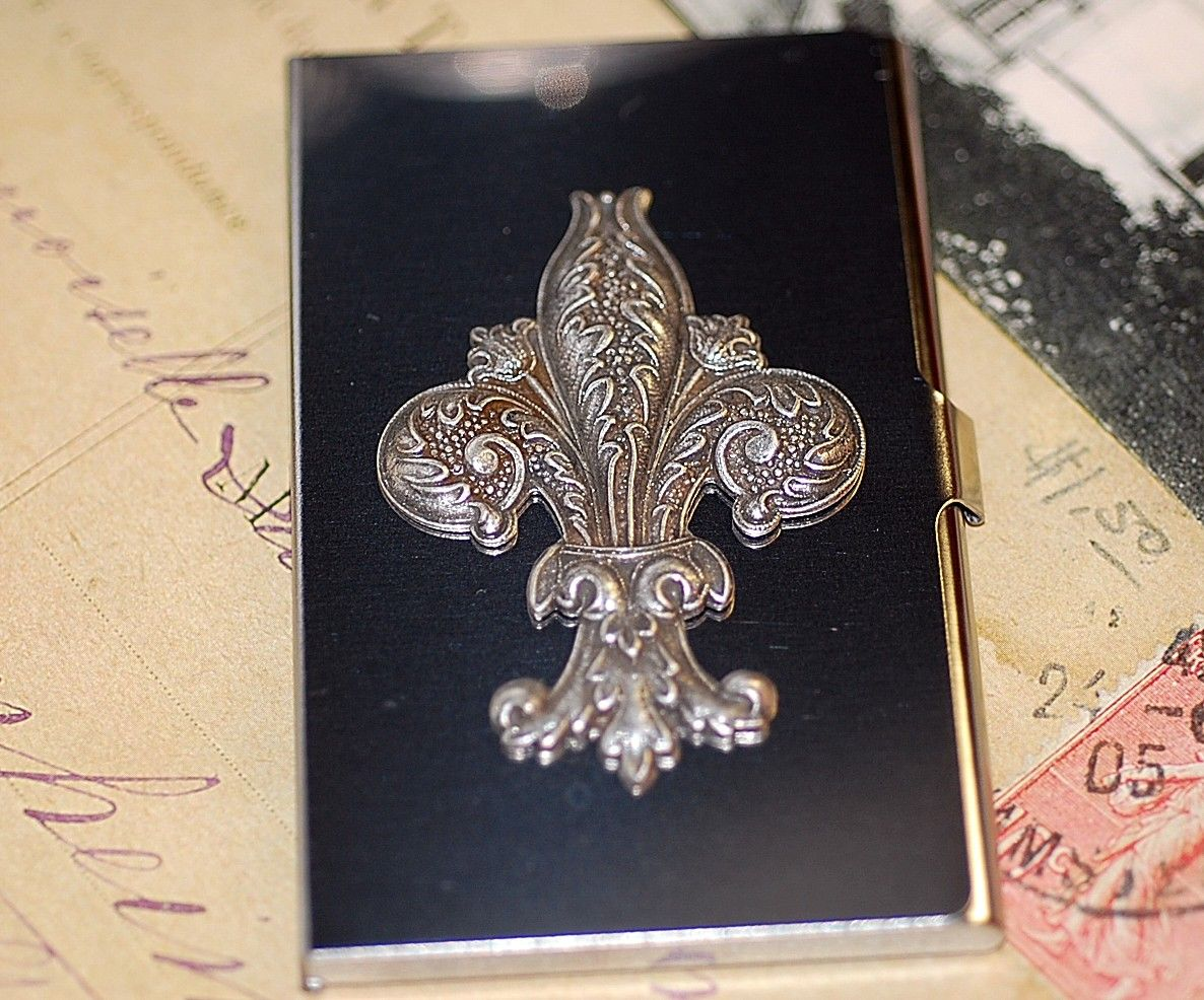 Business card case fleur de lis 2800 via etsy designs that business card case fleur de lis 2800 via etsy magicingreecefo Gallery