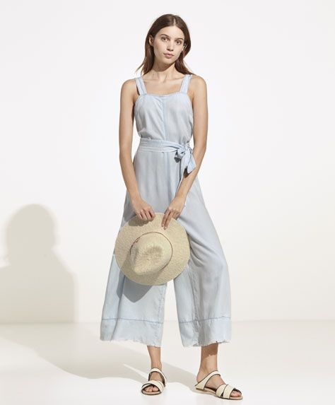 Want That With Wear Pinterest I Dungarees To Oysho Hem Frayed nBxX18pq
