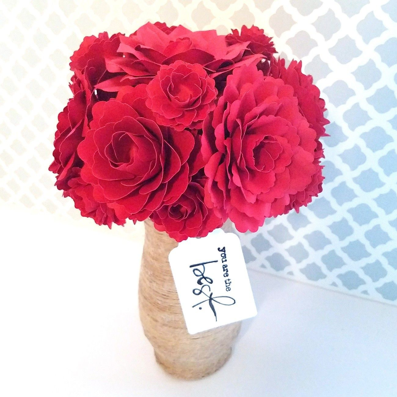 Beautiful Paper Flower Arrangement And For Every Bouquet Or
