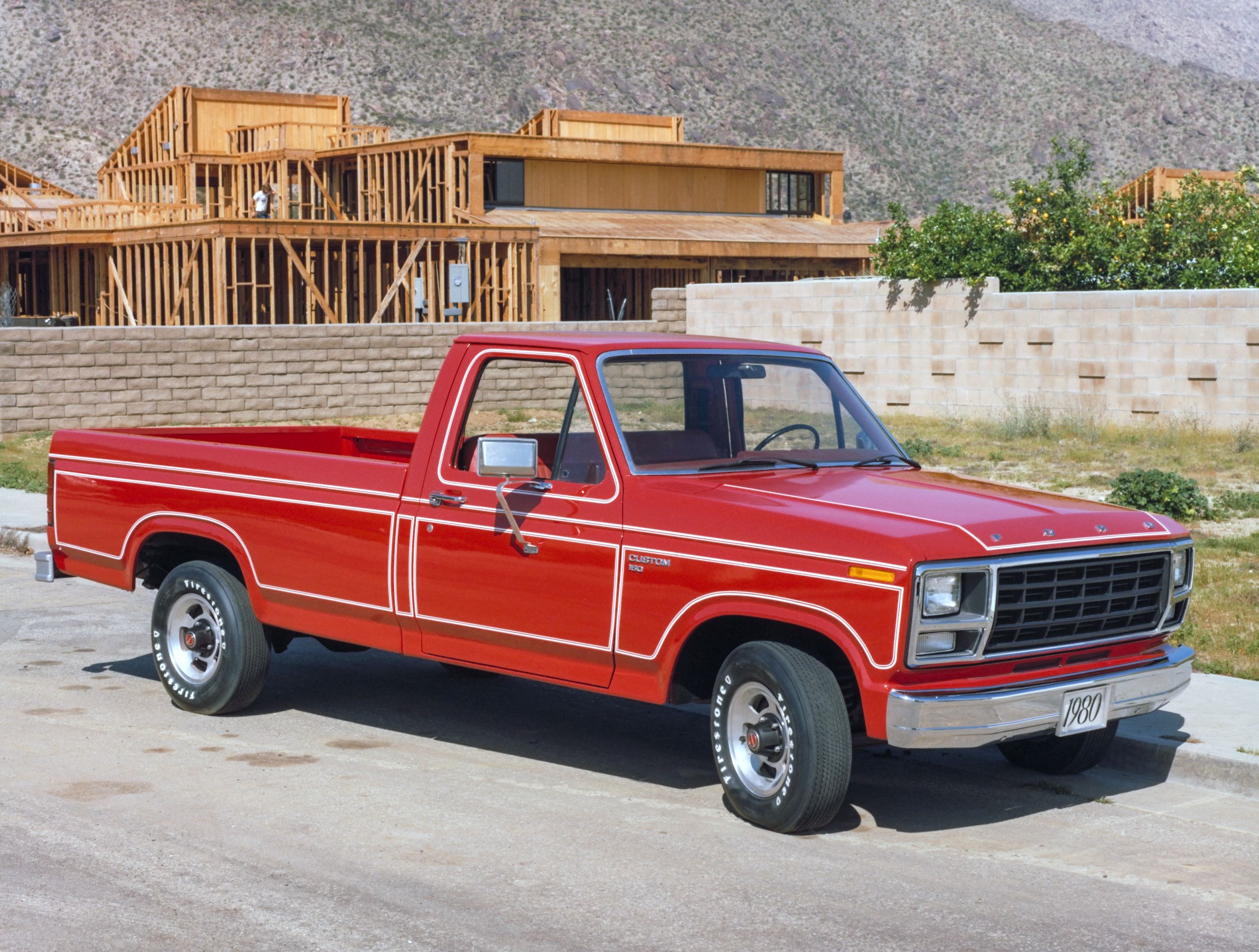 1980 ford f 150 custom styleside pickup