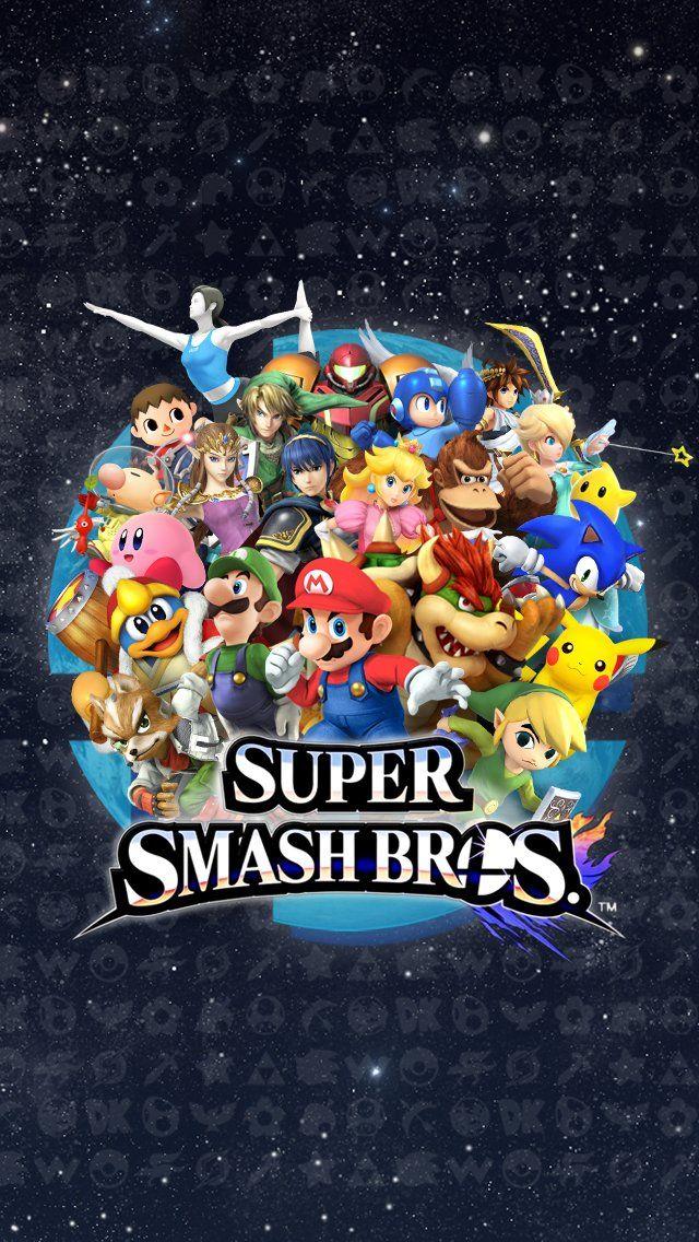 Super Smash Bros Iphone Wallpaper Game Hd Wallpapers Juegos De Mario Bross Videojuegos Clasicos Tatuaje De Nintendo