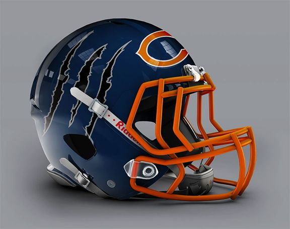 0701e7ab8 Check out more awesome unofficial alternate NFL helmets - ESPN