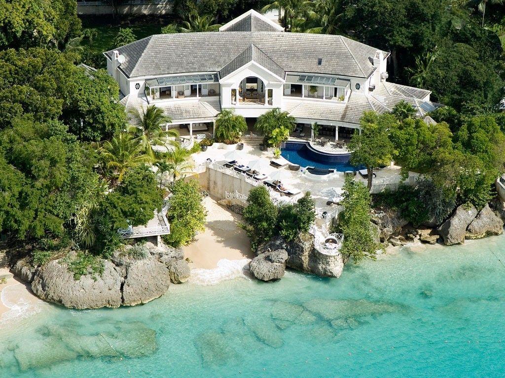 The Garden Villa Rental: 10 Bedroom Waterfront Luxury Villa In Barbados,  Golf Course Nearby | HomeAway