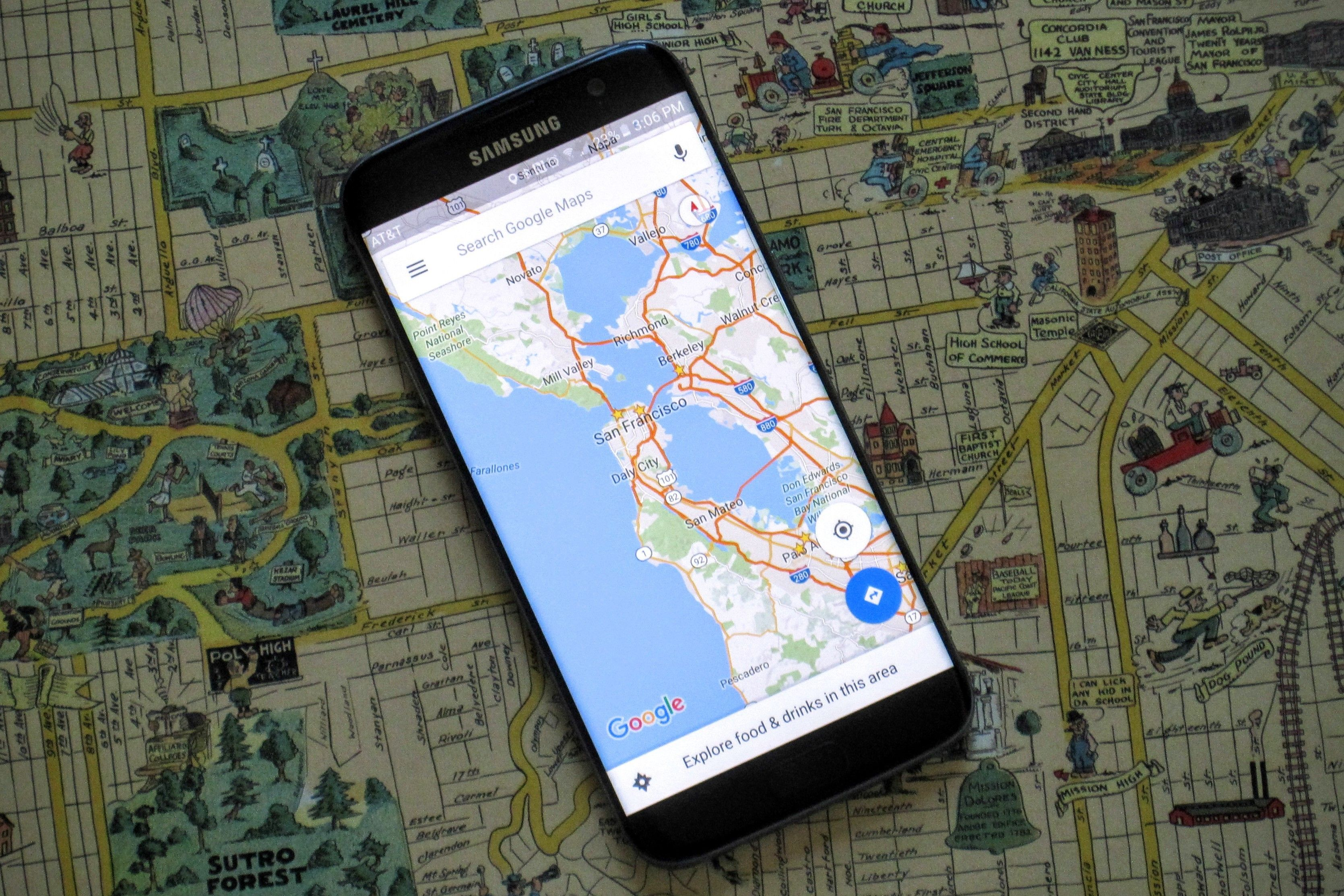 New Google Maps update gives you realtime alerts about