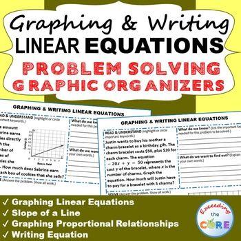 problem solving linear equations