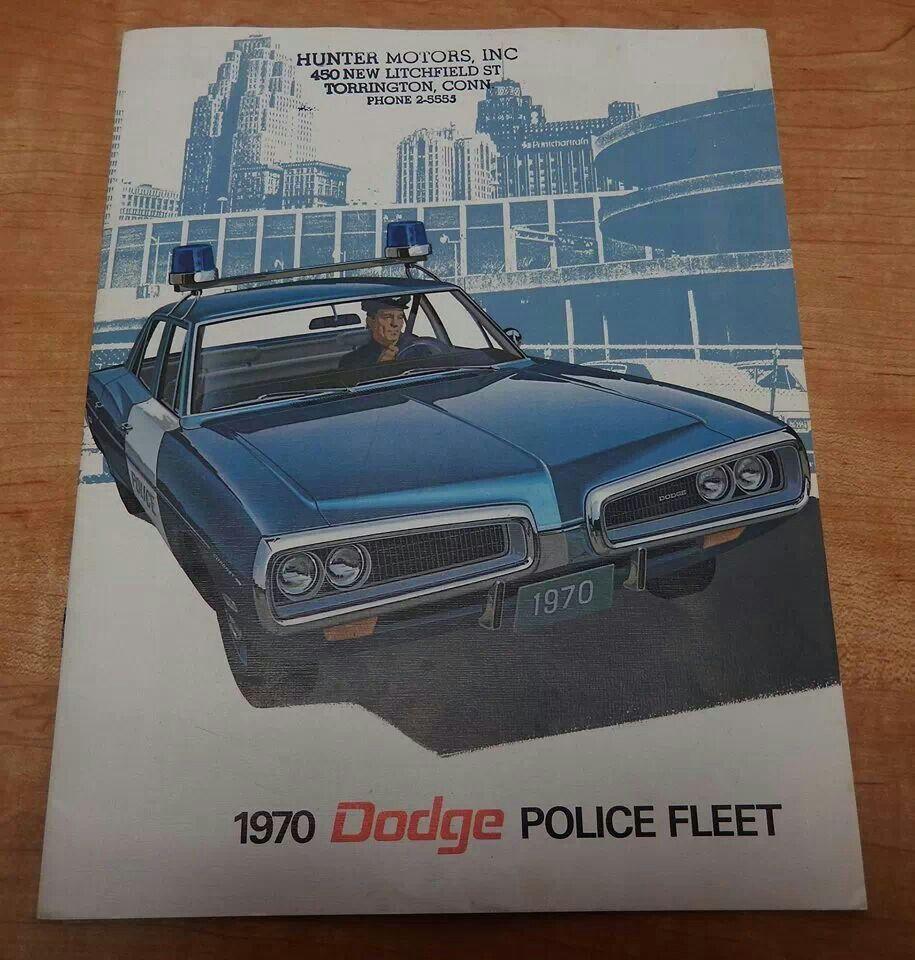 1970 Dodge Police Fleet Hot Rod Cars Emergency