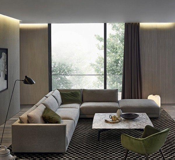 poliform bristol sofa composition 2 sofa pinterest salon canap angle et maison. Black Bedroom Furniture Sets. Home Design Ideas