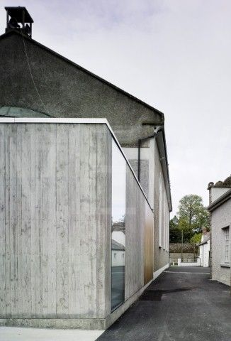 knocktopher friary - odos architects