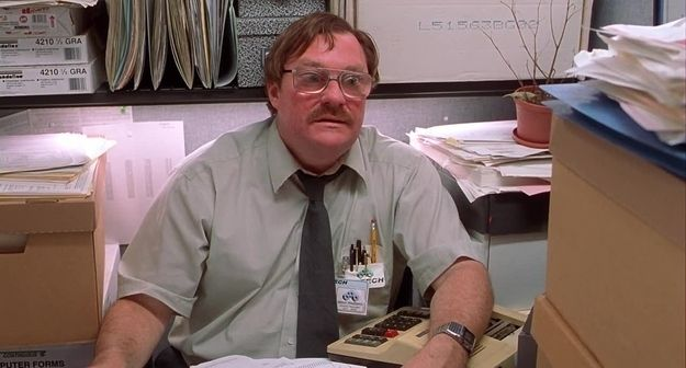 Milton from Office Space | Community Post: 38 Halloween Costumes For People Who Wear Glasses