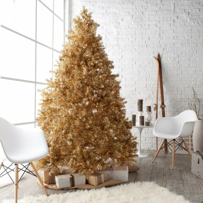 Wohnzimmer gestaltung und dekoideen zu weihnachten wie for Dekoideen weihnachtsbaum
