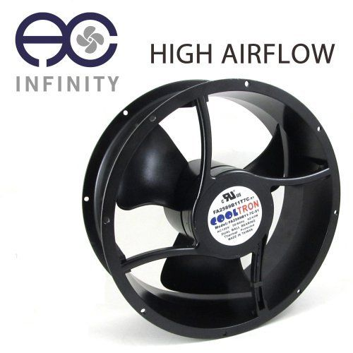 115v Ac Cooling Fan O254mm X 89mm Hs By Ac Infinity 49 99