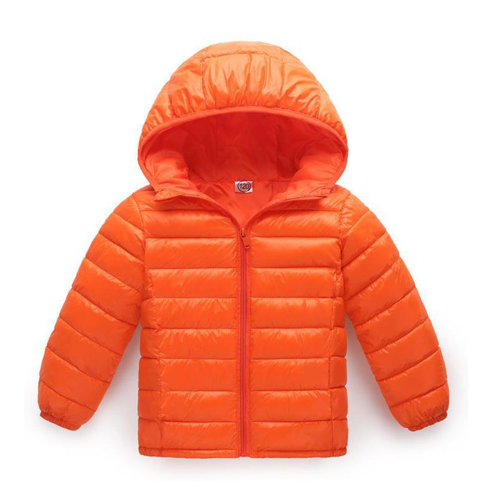 Little Kid Boy Girl Winter Jacket Coat Baby Toddler Lightweight Down Puffer Jacket Hooded Snowsuit 3-8t