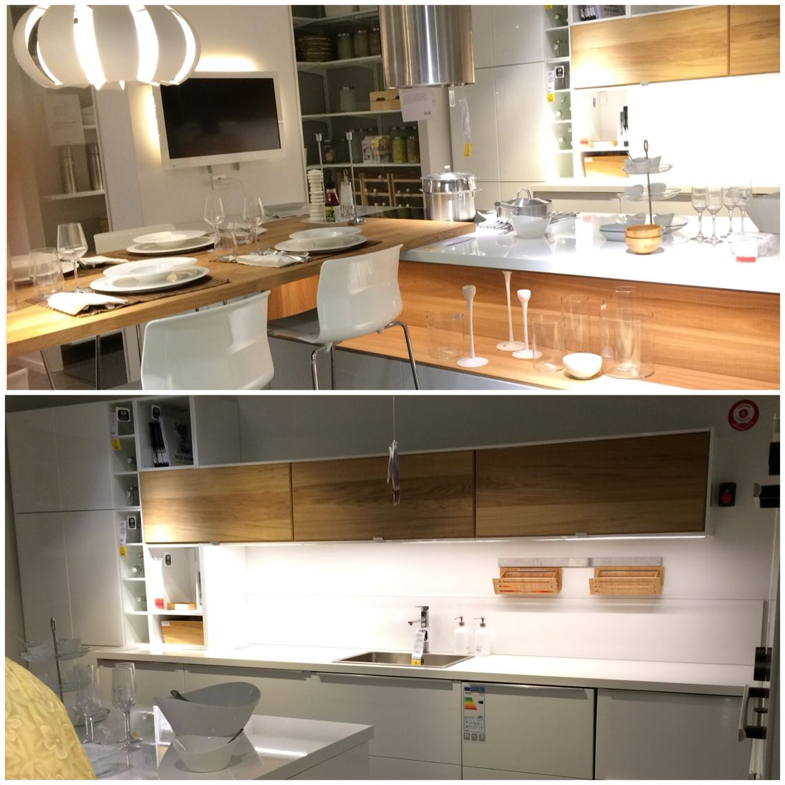 cuisine ikea ekestad ringhult kitchen pinterest kitchens small spaces and mid century. Black Bedroom Furniture Sets. Home Design Ideas