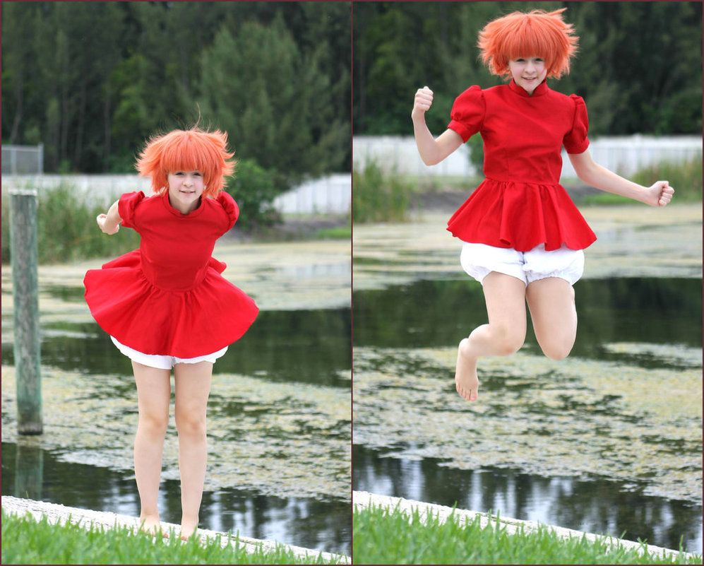 deviantART: More Like ponyo cosplay 4 by squkyshoes ...