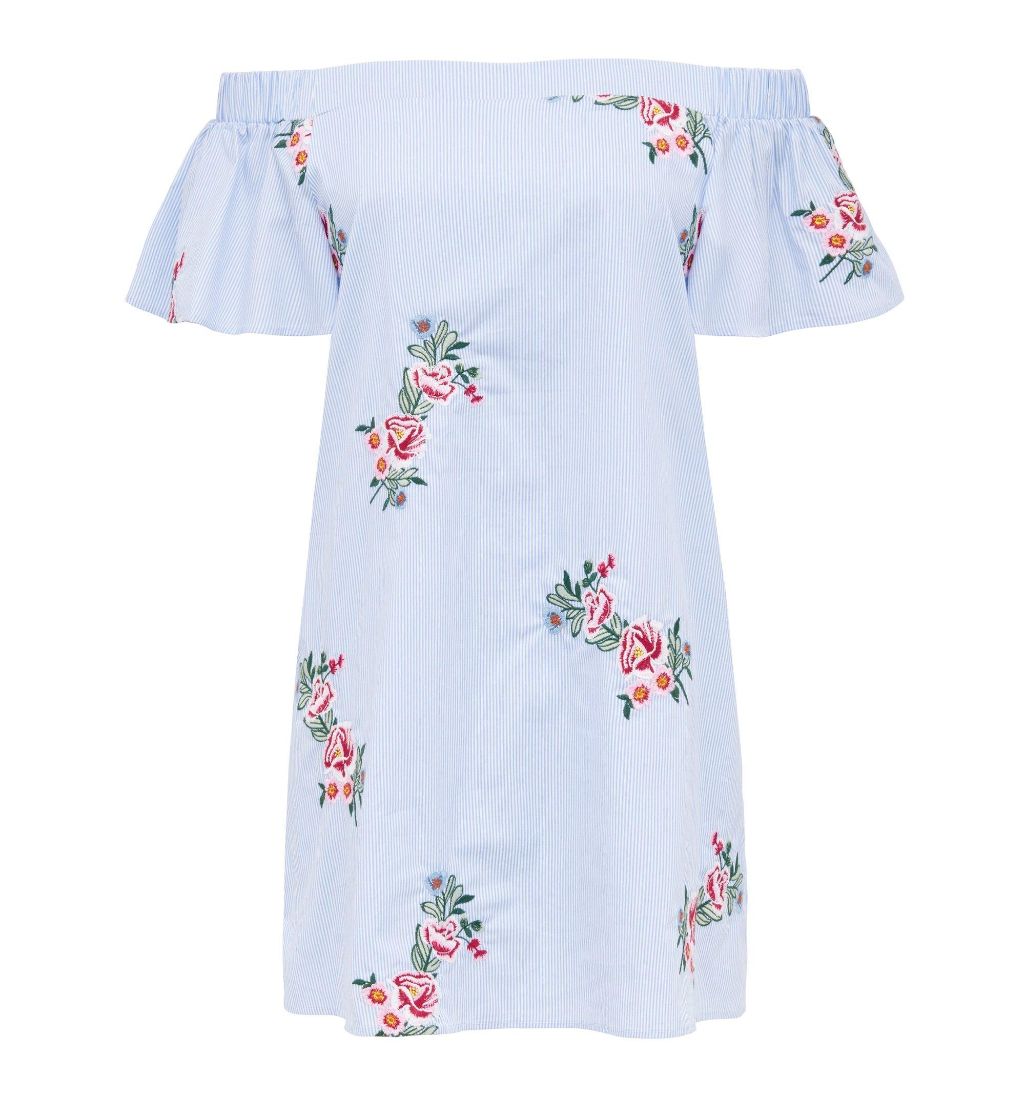 Forever new mia embroidered dress stripe gissyus closet