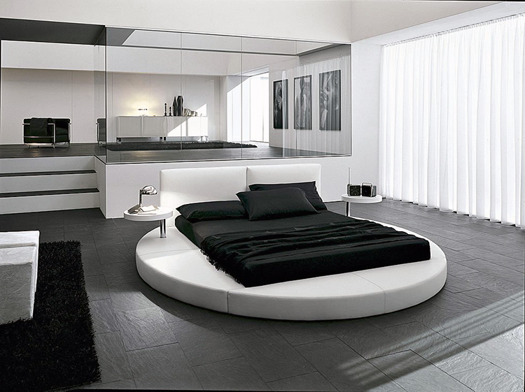 A Modern And Contemporary Twist On The Circular Bed Is Combining