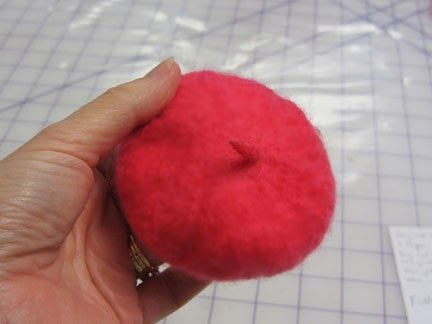 The Expressive Figures Of Janet Bodin: Felted Beret Tutorial