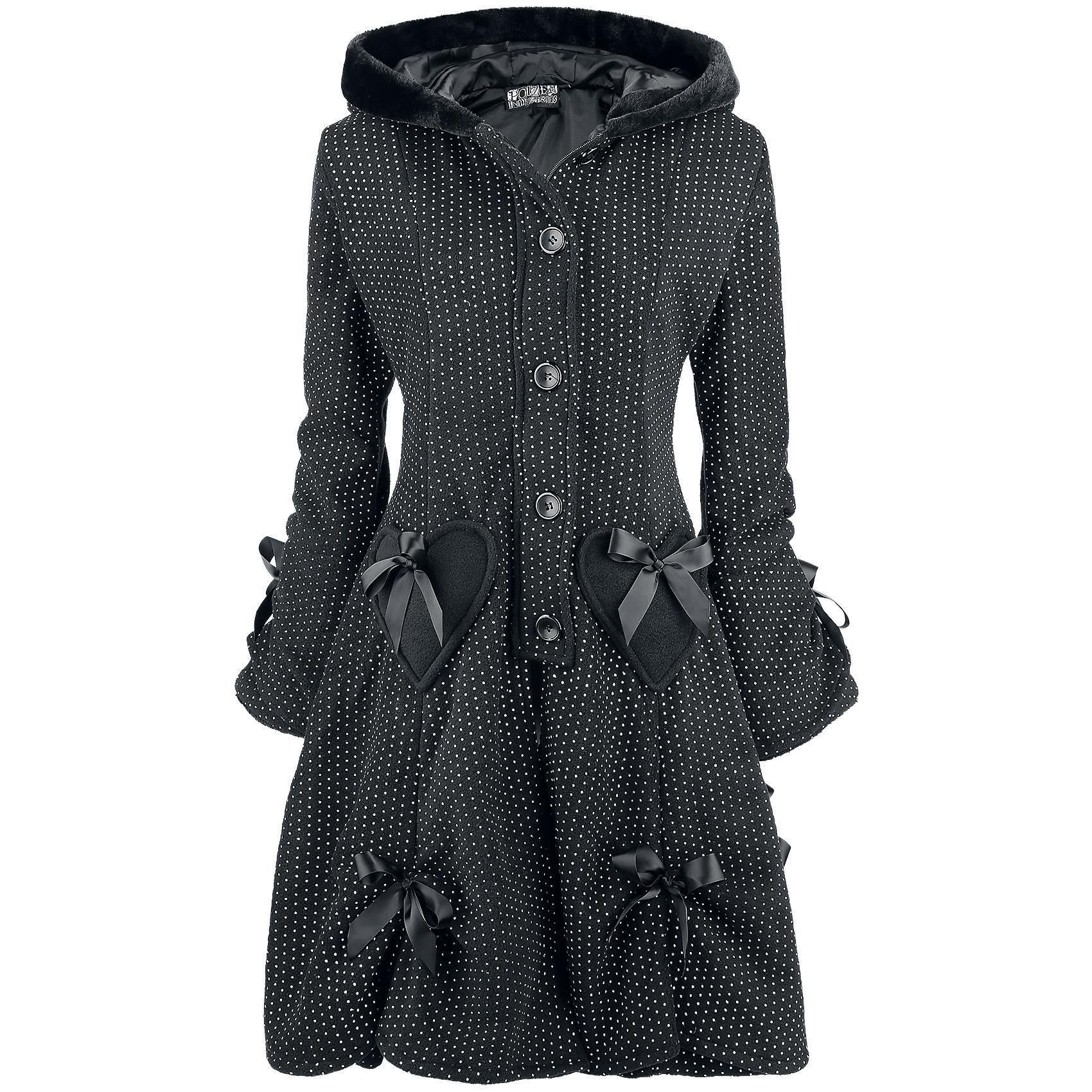 Alice Coat Polka - Winter Coat by Poizen Industries