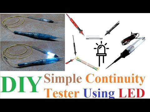 Simple & easy Continuity Tester using LED DIY Tutorial