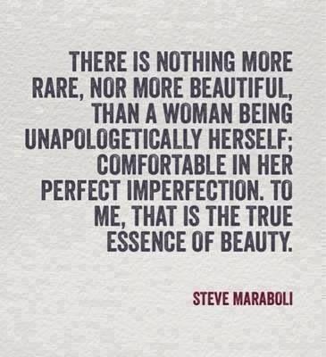 The true essence of beauty