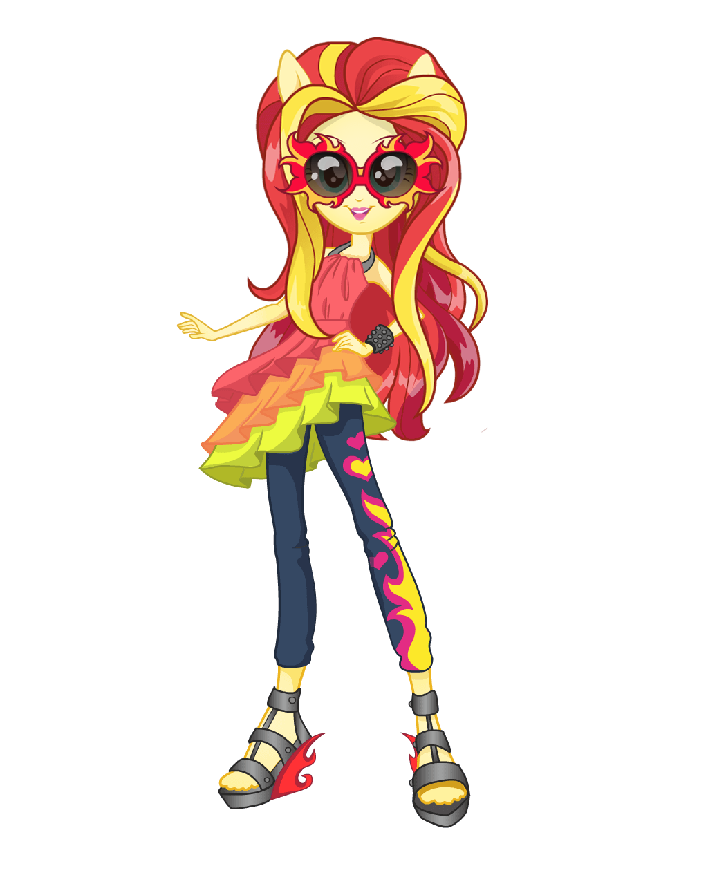 Mlp Eg2 Rainbowrocks Sunset Shimmer New Look By Ytpinkiepie2 On Deviantart My Little Pony Pictures My Little Pony Collection Sunset Shimmer