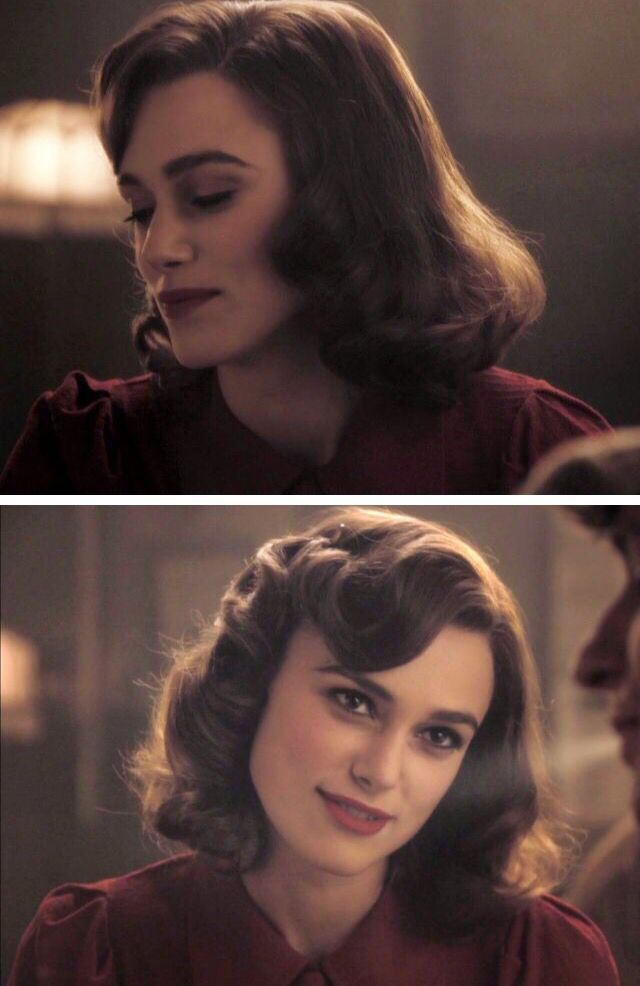 The ever gorgeous Keira Knightly, vintage 20s hairstyle #1920shairstyles