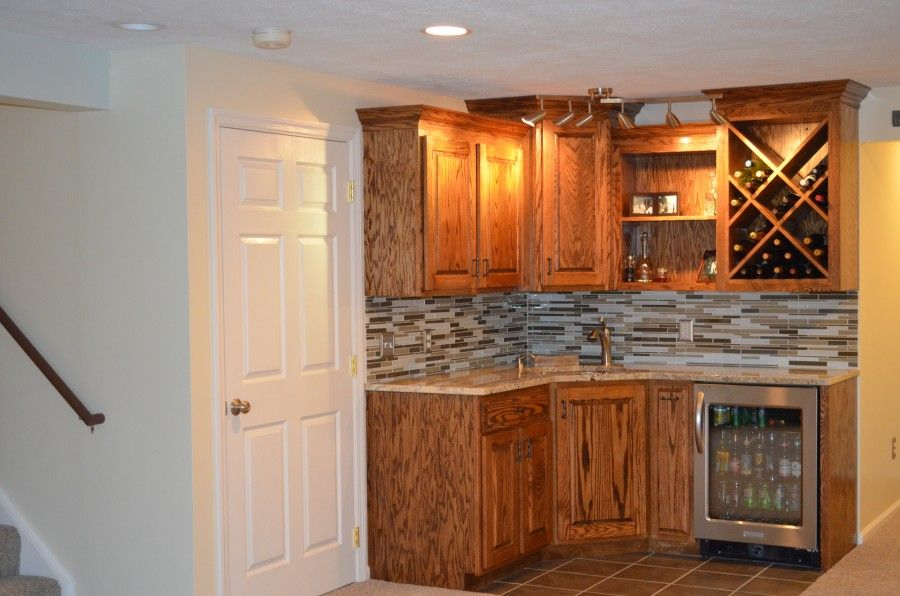 Wet Bar Finish Pa Superior Contractors Wet Bar Bars For Home