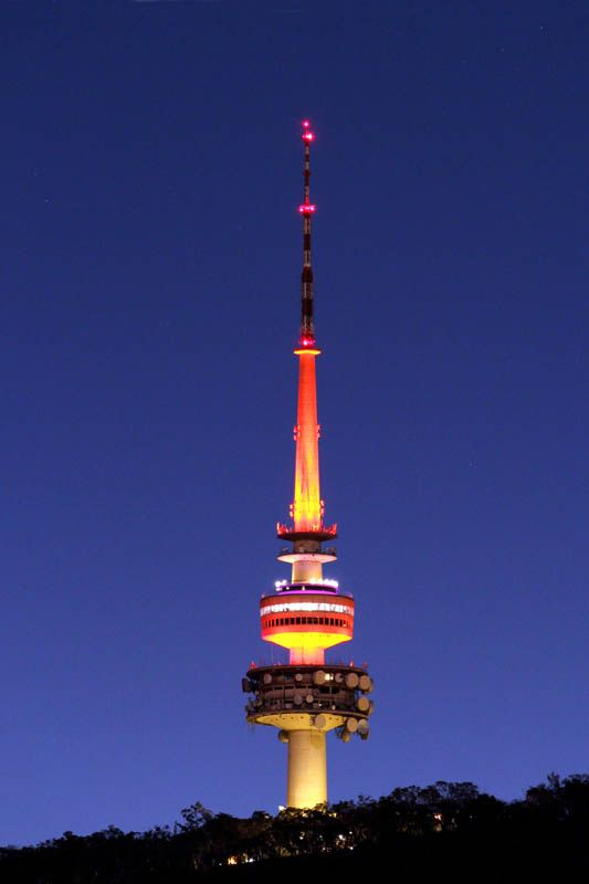 telstra tower black mountain canberra act famous. Black Bedroom Furniture Sets. Home Design Ideas