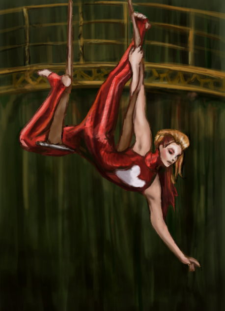 The Trapeze Artist by GlobFish