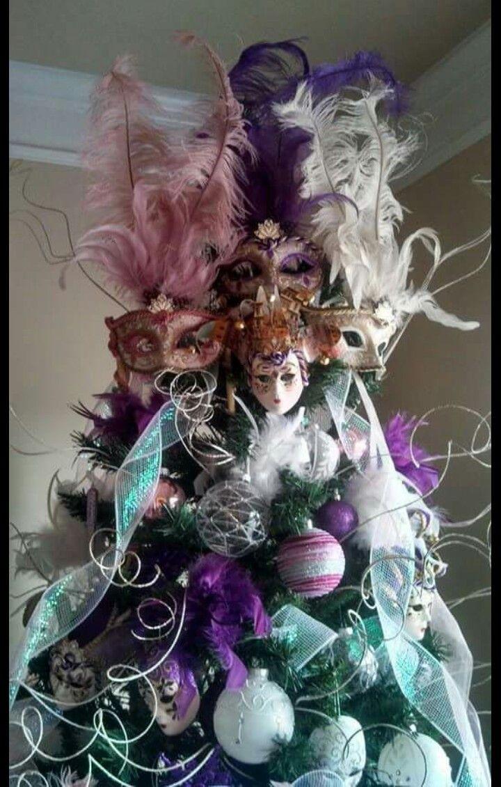 Venice Masks Christmas Tree Decorations Tree Decorations Holiday Decor