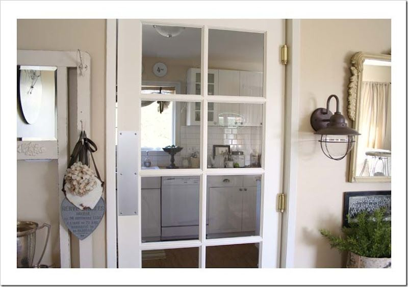Love the French Swinging Door. Available at Home Depot. | Crafts for ...