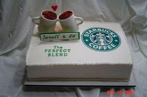 Starbucks Cake (clever title!!) #starbuckscake