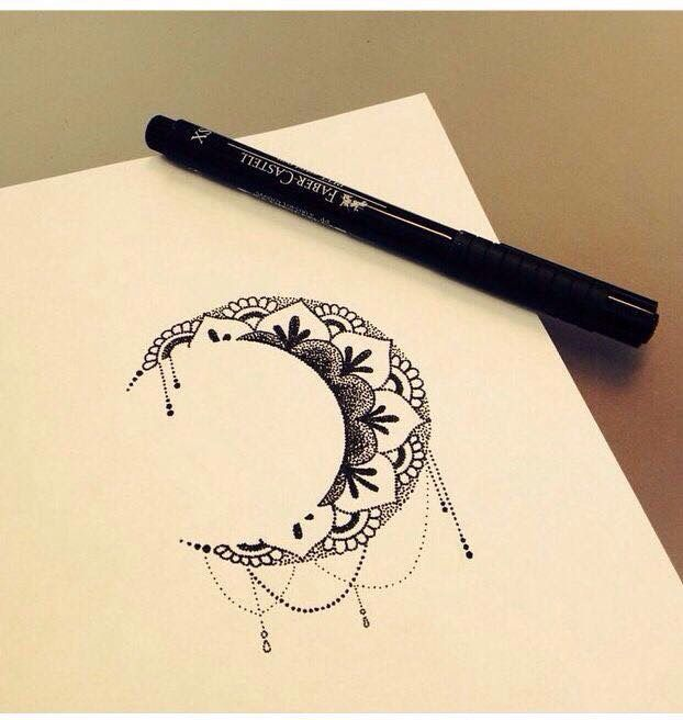Moon tatto