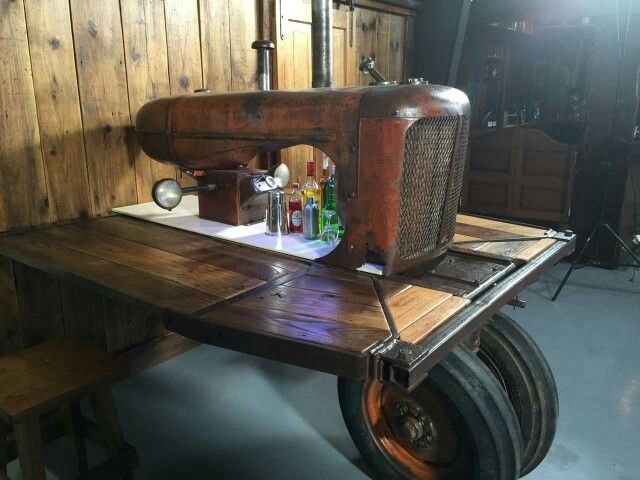 Tractor Man Cave Automotive Decor Automotive Furniture Man Cave Home Bar