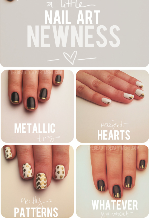 make your own nailart & what tools you need! http://thebeautydepartment.com/2012/12/mani-monday-new-favorite/