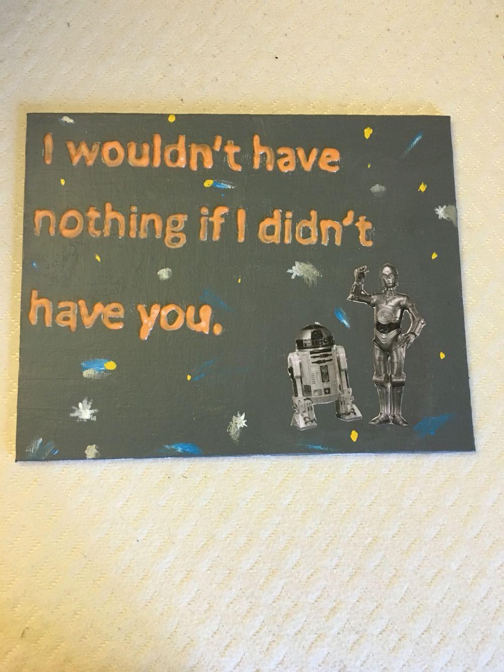 Star Wars themed item for little