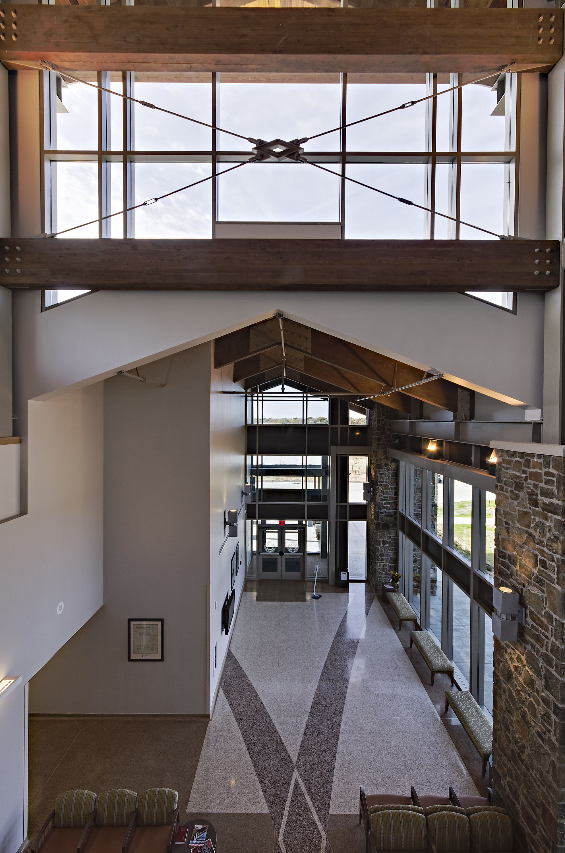 The design of the Vinita clinic incorporates the Cherokee