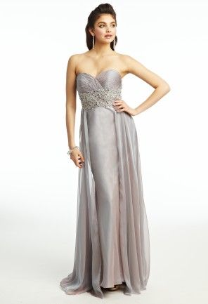 Chiffon Beaded Prom Dress from Camille La Vie and Group USA | PROM ...