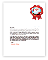 personalised letter from santa