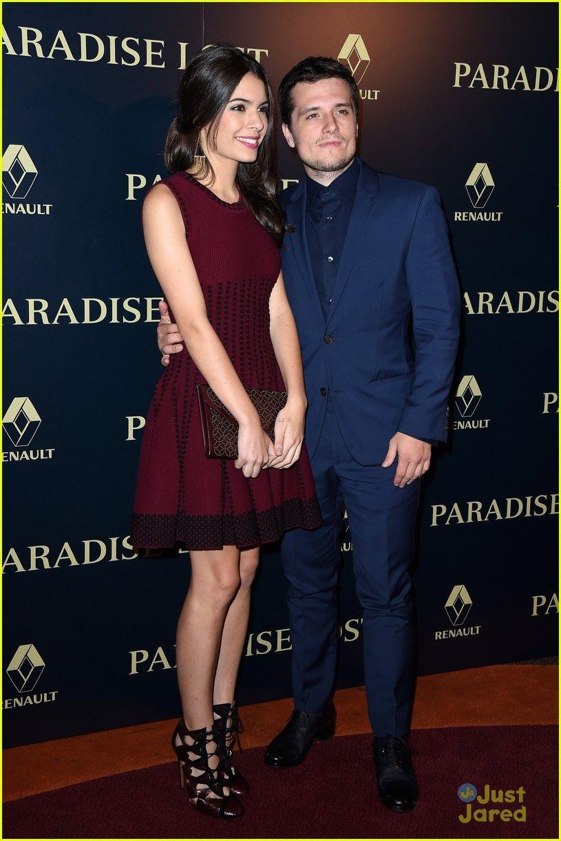 Josh Hutcherson & Girlfriend Claudia Traisac Premiere ...