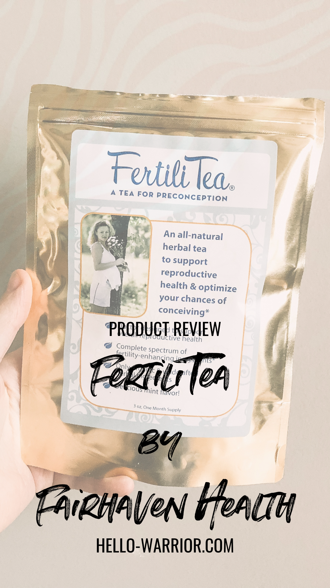 Product Review Of Tea For Fertility Fertility Tea Fairhaven Health Trying To Conceive