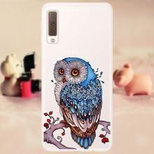 Case FOR Samsung A7 2018 Funda Phone Case Soft TPU sFOR Samsung A7 2018 Cover Silicone FOR Samsung Galaxy A7 2018 Case